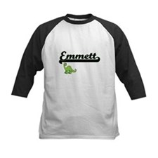 Emmett Classic Name Design with Di Baseball Jersey