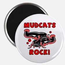 Mudcats Rock Magnet