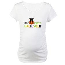 First Halloween Cat Boys Shirt