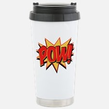 Pow! Stainless Steel Travel Mug