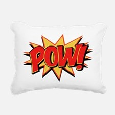 Pow! Rectangular Canvas Pillow