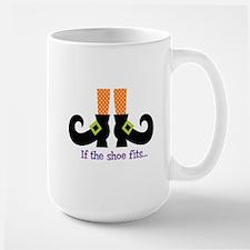 If the shoe fits.. Mugs