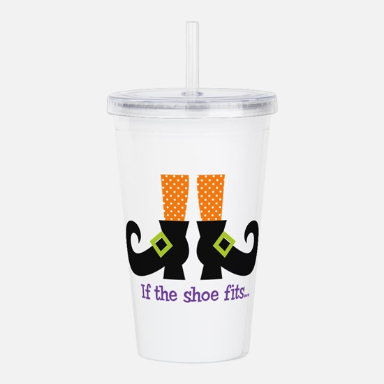 If the shoe fits.. Acrylic Double-wall Tumbler