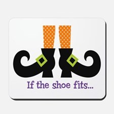 If the shoe fits.. Mousepad