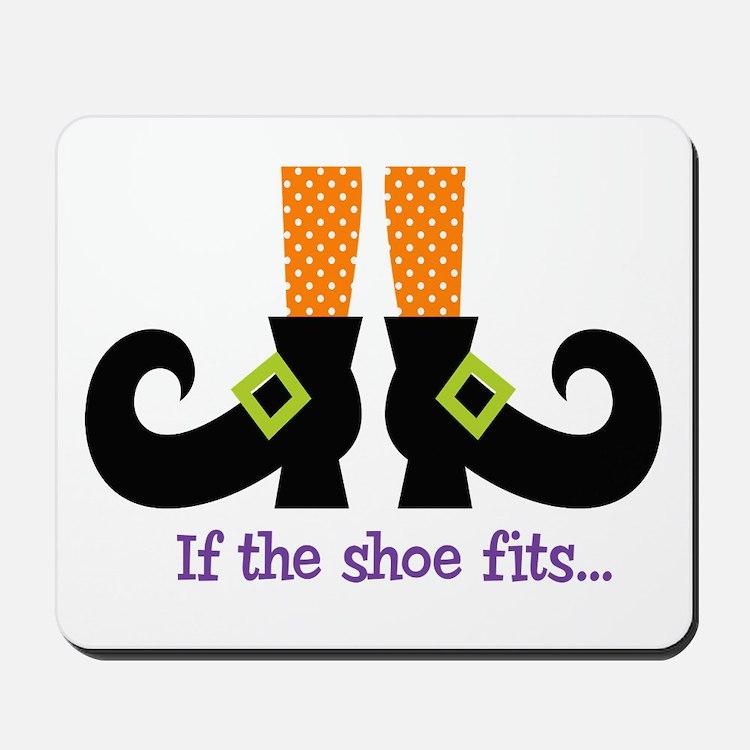 If the shoe fits.. Mousepad
