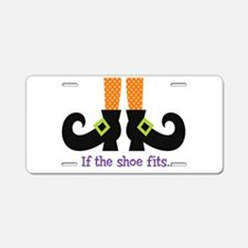 If the shoe fits.. Aluminum License Plate