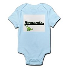 Fernando Classic Name Design with Dinosa Body Suit