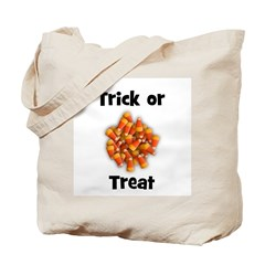 Trick or Treat (candy corn) Tote Bag