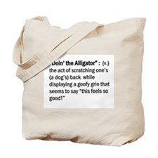 Doin' The Alligator Tote Bag