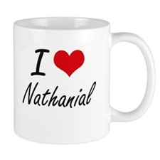 I Love Nathanial Mugs
