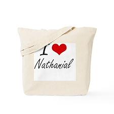 I Love Nathanial Tote Bag