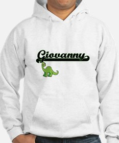Giovanny Classic Name Design wit Hoodie