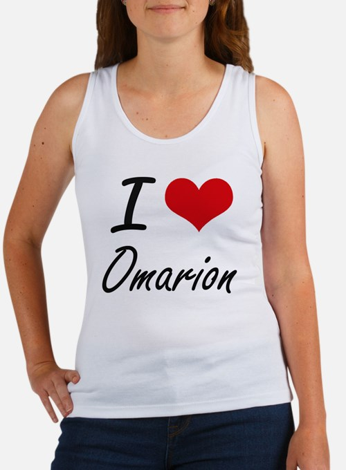 I Love Omarion Tank Top