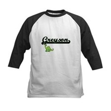 Greyson Classic Name Design with D Baseball Jersey