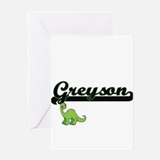 Greyson Classic Name Design with Di Greeting Cards