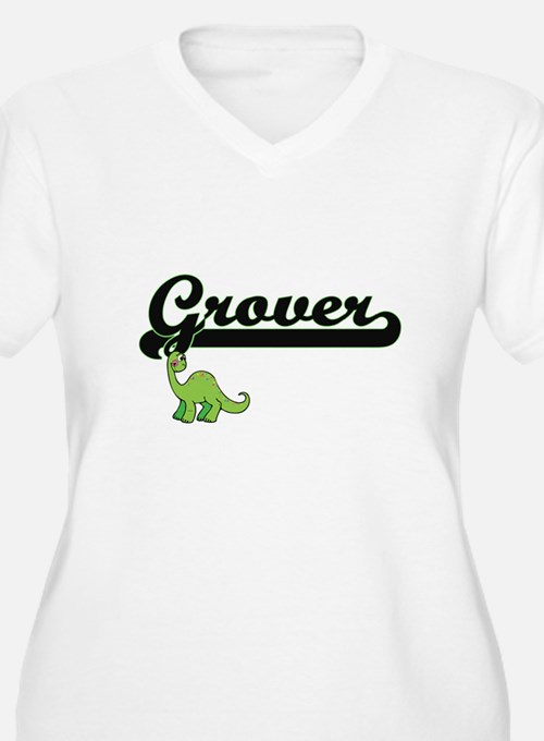 Grover Classic Name Design with Plus Size T-Shirt