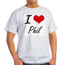 I Love Phil T-Shirt