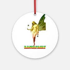 Rastafari Round Ornament