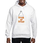 Trick or Treat (ghost) Hooded Sweatshirt