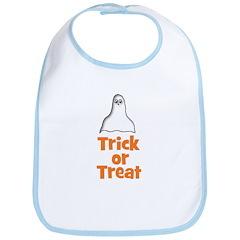Trick or Treat (ghost) Bib