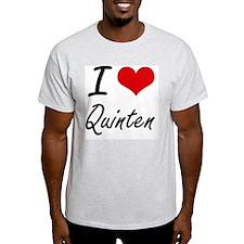 I Love Quinten T-Shirt