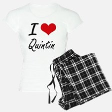I Love Quintin Pajamas
