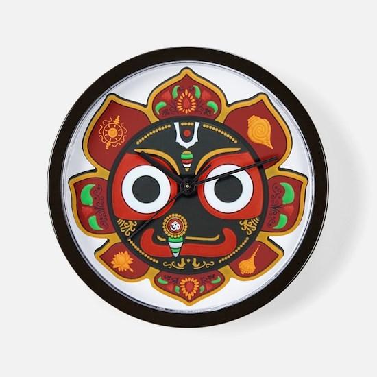 Cute Hare krishna Wall Clock