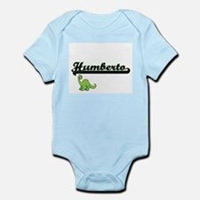 Humberto Classic Name Design with Dinosa Body Suit