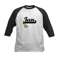 Ian Classic Name Design with Dinos Baseball Jersey