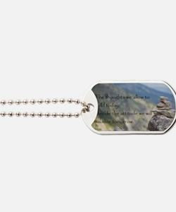 Cute Motivational stones Dog Tags