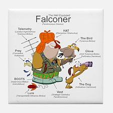 The Falconer Tile Coaster
