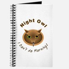 No Sleep Night Owl Journal