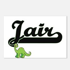 Jair Classic Name Design Postcards (Package of 8)