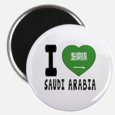 I Love Saudi Arabia Magnet