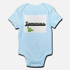 Jamarcus Classic Name Design with Dinosa Body Suit