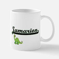 Jamarion Classic Name Design with Dinosaur Mugs