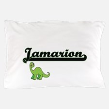 Jamarion Classic Name Design with Dino Pillow Case