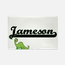 Jameson Classic Name Design with Dinosaur Magnets