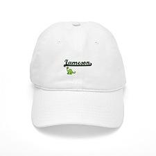 Jameson Classic Name Design with Dinosaur Baseball Cap