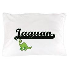 Jaquan Classic Name Design with Dinosa Pillow Case