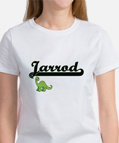 Jarrod Classic Name Design with Dinosaur T-Shirt