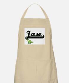 Jase Classic Name Design with Dinosaur Apron
