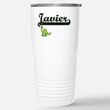 Javier Classic Name Des Travel Mug