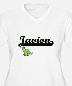 Javion Classic Name Design with Plus Size T-Shirt