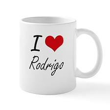 I Love Rodrigo Mugs
