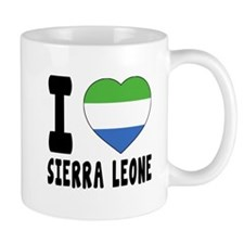 I Love Sierra Leone Mug