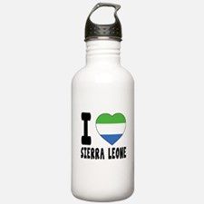 I Love Sierra Leone Water Bottle
