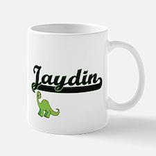 Jaydin Classic Name Design with Dinosaur Mugs