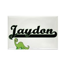 Jaydon Classic Name Design with Dinosaur Magnets