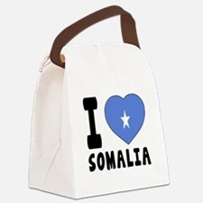 I Love Somalia Canvas Lunch Bag